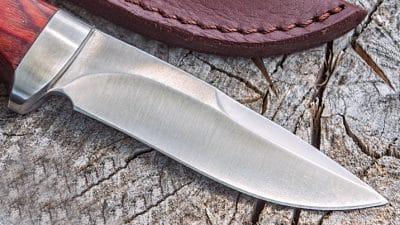 jachtmes hallinskarvet detail